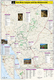 Fish River Canyon and the Richtersveld Adventure Map 3201 by National Geographic Maps - Back of map