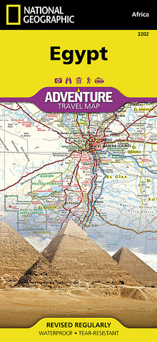 Buy map Egypt Adventure Map 3202 by National Geographic Maps