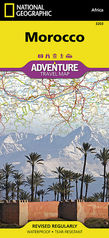 Buy map Morocco Adventure Map 3203 by National Geographic Maps