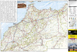 Morocco Adventure Map 3203 by National Geographic Maps - Front of map