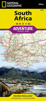 Buy map South Africa Adventure Map 3204 by National Geographic Maps