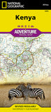 Buy map Kenya Adventure Map 3205 by National Geographic Maps