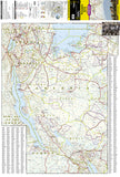 Tanzania, Rwanda, and Burundi Adventure Map 3206 by National Geographic Maps - Front of map