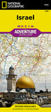 Buy map Israel Adventure Map 3208 by National Geographic Maps