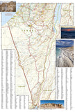 Israel Adventure Map 3208 by National Geographic Maps - Back of map