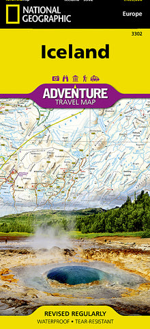 Buy map Iceland Adventure Map 3302 by National Geographic Maps