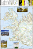 Iceland Adventure Map 3302 by National Geographic Maps - Front of map