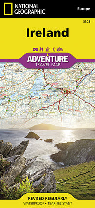Buy map Ireland Adventure Map 3303 by National Geographic Maps