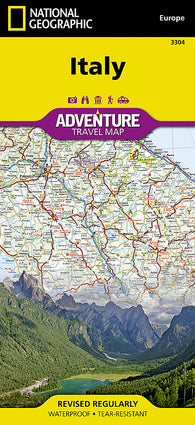 Buy map Italy AdventureMap by National Geographic Maps