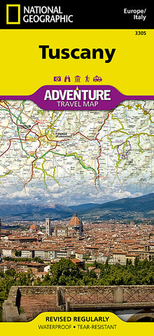 Buy map Tuscany, Italy Adventure Map 3305 by National Geographic Maps