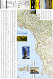Tuscany, Italy Adventure Map 3305 by National Geographic Maps - Front of map