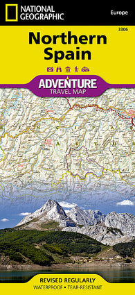 Buy map Spain, Northern, Adventure Map 3306 by National Geographic Maps