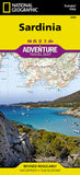 Buy map Sardinia, Italy Adventure Map 3309 by National Geographic Maps