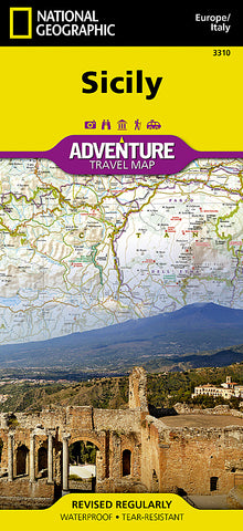 Buy map Sicily, Italy Adventure Map 3310 by National Geographic Maps
