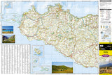 Sicily, Italy Adventure Map 3310 by National Geographic Maps - Front of map