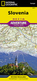 Buy map Slovenia Adventure Map 3311 by National Geographic Maps