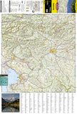 Slovenia Adventure Map 3311 by National Geographic Maps - Front of map