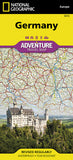 Buy map Germany Adventure Map 3312 by National Geographic Maps