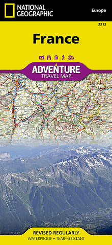 Buy map France Adventure Map 3313 by National Geographic Maps