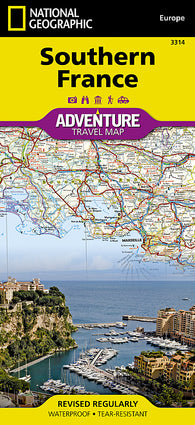 Buy map France, Southern Adventure Map 3314 by National Geographic Maps