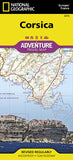 Buy map Corsica, France Adventure Map 3315 by National Geographic Maps