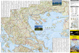 Greece Adventure Map 3316 by National Geographic Maps - Front of map