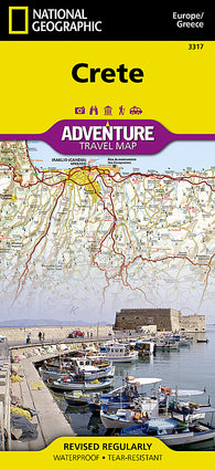 Buy map Crete, Greece Adventure Map 3317 by National Geographic Maps