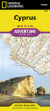 Buy map Cyprus Adventure Map 3318 by National Geographic Maps