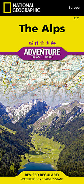 Buy map Alps Adventure Map 3321 by National Geographic Maps