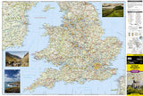 United Kingdom Adventure Map 3325 by National Geographic Maps - Front of map