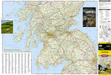 Scotland Adventure Map 3326 by National Geographic Maps - Front of map