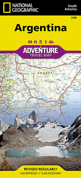 Buy map Argentina Adventure Map 3400 by National Geographic Maps