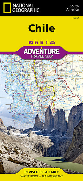 Buy map Chile Adventure Map 3402 by National Geographic Maps