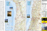 Chile Adventure Map 3402 by National Geographic Maps - Front of map