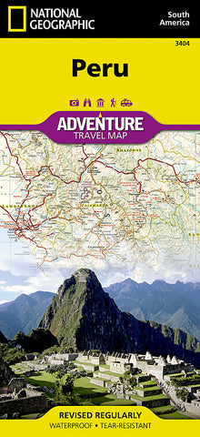 Buy map Peru Adventure Map 3404 by National Geographic Maps
