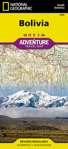Buy map Bolivia Adventure Map 3406 by National Geographic Maps