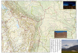 Bolivia Adventure Map 3406 by National Geographic Maps - Back of map