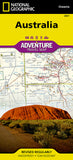 Buy map Australia Adventure Map 3501 by National Geographic Maps