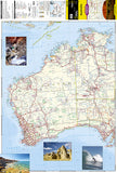 Australia Adventure Map 3501 by National Geographic Maps - Front of map
