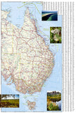 Australia Adventure Map 3501 by National Geographic Maps - Back of map
