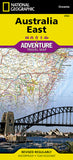 Buy map Australia, East Adventure Map 3502 by National Geographic Maps