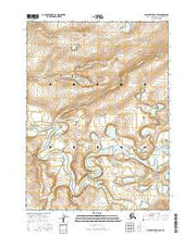 Ambler River D-3 NW Alaska Current topographic map, 1:25000 scale, 7.5 X 7.5 Minute, Year 2016 from Alaska Maps Store