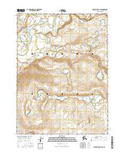 Ambler River D-4 NW Alaska Current topographic map, 1:25000 scale, 7.5 X 7.5 Minute, Year 2016 from Alaska Maps Store
