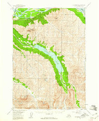 Anchorage B-6 Alaska Historical topographic map, 1:63360 scale, 15 X 15 Minute, Year 1960
