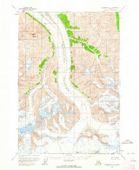 Anchorage C-2 Alaska Historical topographic map, 1:63360 scale, 15 X 15 Minute, Year 1960