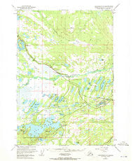 Anchorage C-8 Alaska Historical topographic map, 1:63360 scale, 15 X 15 Minute, Year 1950