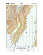 Anchorage A-3 SW Alaska Current topographic map, 1:25000 scale, 7.5 X 7.5 Minute, Year 2016 from Alaska Map Store