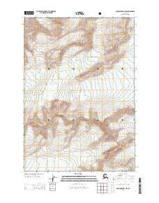 Buy Topo Map Anchorage B 1 Sw Ak 2013 Yellowmaps Map Store