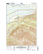 Anchorage B-7 NE Alaska Current topographic map, 1:25000 scale, 7.5 X 7.5 Minute, Year 2016 from Alaska Maps Store