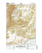 Anchorage B-8 NW Alaska Current topographic map, 1:25000 scale, 7.5 X 7.5 Minute, Year 2016 from Alaska Maps Store